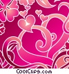 Swirling Hearts Fine Art illustration