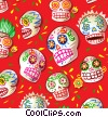 El D�a de los Muertos Stock Art graphic