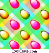Stock Art picture  of a Easter Egg Checkerboard