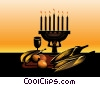 Stock Art image  of a Symbols of Kwanzaa