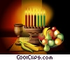 Fine Art graphic  of a Symbols of Kwanzaa