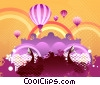 Stock Art graphic  of a Up Up and Away