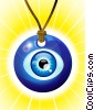 Fine Art illustration  of a The Evil Eye Amulet