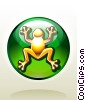 Frog Lucky Charm Stock Art image