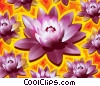 Lotus Blossom Stock Art picture