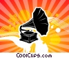 Fine Art graphic  of a Old Style Phonograph