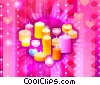 Stock Art image  of a Love Candles