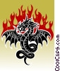 Dragon Fire Stock Art image
