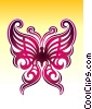 Tribal Butterfly Fine Art illustration