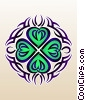 Fine Art graphic  of a Tribal Celtic Tattoo