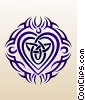 Fine Art image  of a Tribal Heart Tattoo
