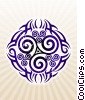Fine Art graphic  of a Tribal Tattoo