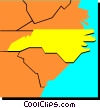 North Carolina Vector Clip Art graphic