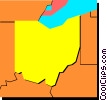 Ohio Vector Clipart picture