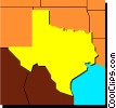 Texas Vector Clipart picture