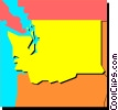 Washington Vector Clipart graphic