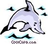 Dolphin Vector Clip Art picture
