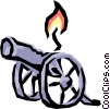Cannons Vector Clipart illustration
