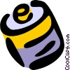 Vector Clipart image  of a battery