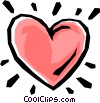 Vector Clipart illustration  of a Heart