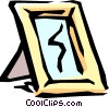 Vector Clipart image  of a Mirror