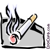 Cigarettes Vector Clipart picture