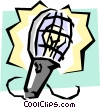 Work light Vector Clip Art picture