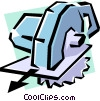 Power saw Vector Clipart graphic