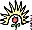 Sunshine Vector Clip Art picture