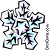 Vector Clipart image  of a Snowflake designs