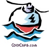 Fishing float Vector Clipart illustration