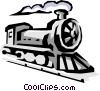 Locomotive Vector Clipart illustration