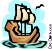 Sailboats Vector Clip Art picture