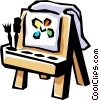 Vector Clipart illustration  of a Children's art