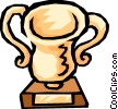 Trophy Vector Clipart illustration