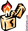 Cigarette lighter Vector Clipart picture