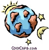 Vector Clipart picture  of a Earth