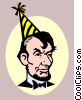 Abraham Lincoln's Birthday Vector Clipart picture