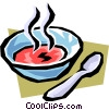 Vector Clipart graphic  of a Soup