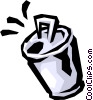 Soft drink can Vector Clipart picture