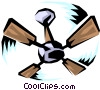 Vector Clip Art picture  of a Fan