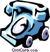 Telephone Vector Clip Art picture