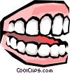 Vector Clipart illustration  of a Teeth