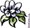 Vector Clip Art graphic  of a Flowers