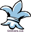 Vector Clipart picture  of a Fleur-de-lis