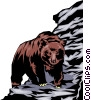 Grizzly bear Vector Clipart picture