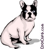 Vector Clipart graphic  of a Bulldog