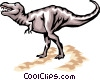 Vector Clipart picture  of a Dinosaurs