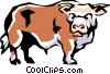 Cow Vector Clipart picture