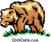 Brown bear Vector Clip Art picture